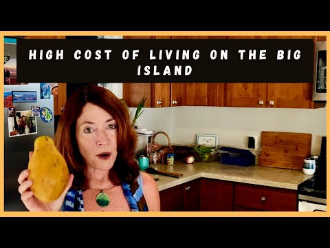 High Cost of Living on the Big Island