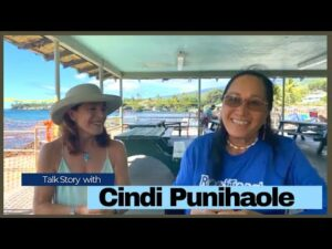 Read more about the article Talk Story with Cindi Punihaole – Insights from a Native Hawaiian Growing up In Kahalu'u